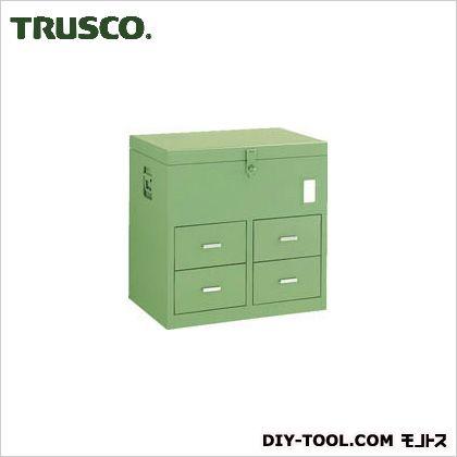 TRUSCO 車載用工具箱中4個610X420X610 F-6104