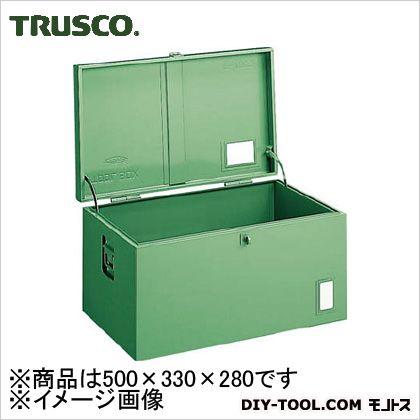 トラスコ(TRUSCO) 中型車載用工具箱中皿なし500X330X280 535 x 362 x 310 mm F501