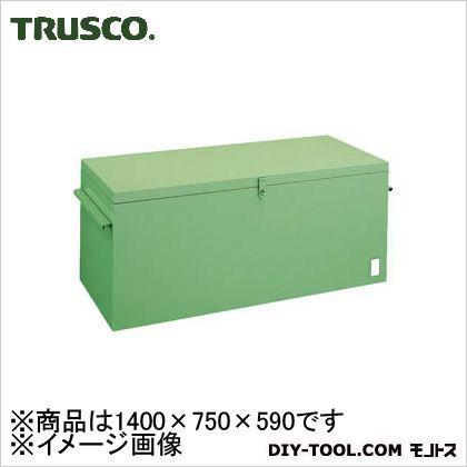 トラスコ 大型車載用工具箱中皿なし 1400×750×590 F1401