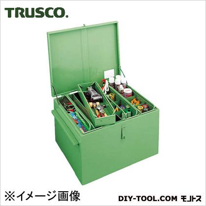 トラスコ 大型車載用工具箱中皿付 1400×750×590 F1400