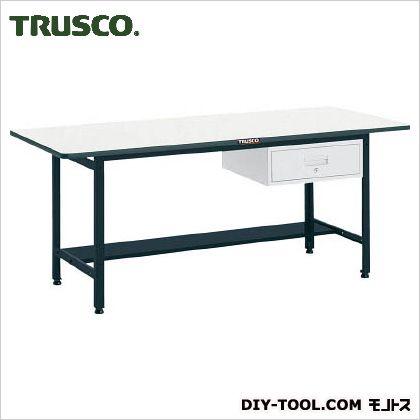 トラスコ EW型作業台ポリ天板 引出1段 1800×900×740 EWP1890F1