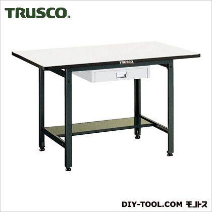 トラスコ(TRUSCO) EWP型作業台1200X750XH740薄型1段引出付 EWP-1275UDC1