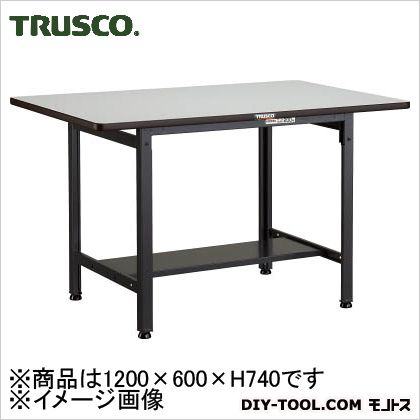 トラスコ(TRUSCO) EWP型作業台1200X600XH740 640 x 1240 x 170 mm EWP-1260