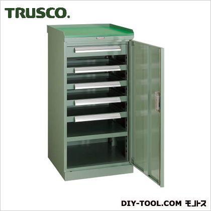 トラスコ スライド工具キャビネット作業台 505×550×1000 DX13