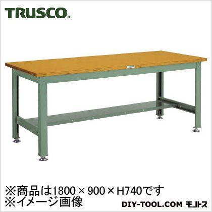 トラスコ 中量DW作業台2トン型合板天板 1800×900 DW1809