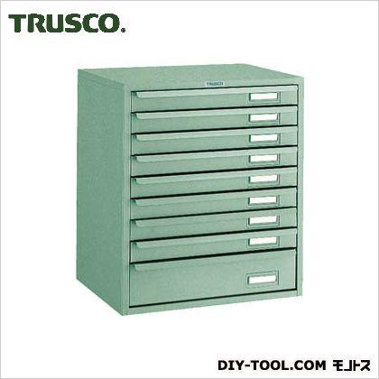TRUSCO 卓上ツールケースワイド9段384X327XH453 DT-L1S8