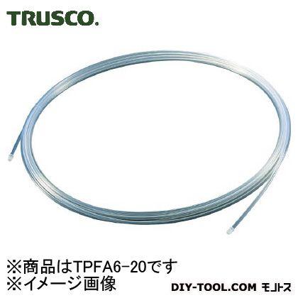 トラスコ ふっ素樹脂チューブ 外径6.0 内径4.0 長さ20m TPFA620