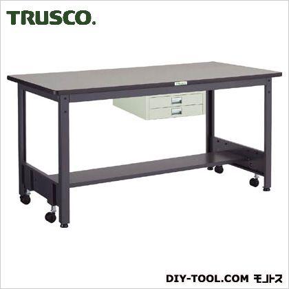 トラスコ(TRUSCO) 移動式作業台中量リノ天板薄引出2段 1800×750 CFWR1875UDC2