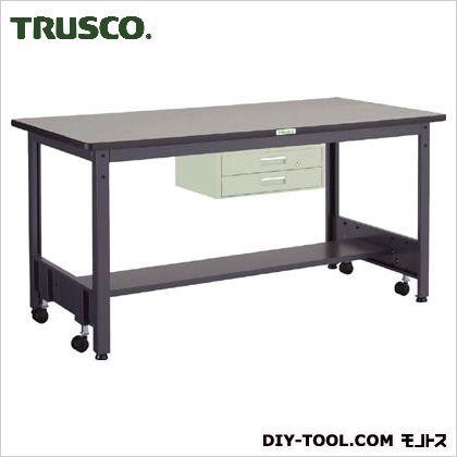 トラスコ(TRUSCO) 移動式作業台中量リノ天板引出2段 1800×750 CFWR1875F2