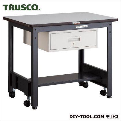 トラスコ 移動式作業台中量リノ天板 引出1段 900×600 CFWR0960F1