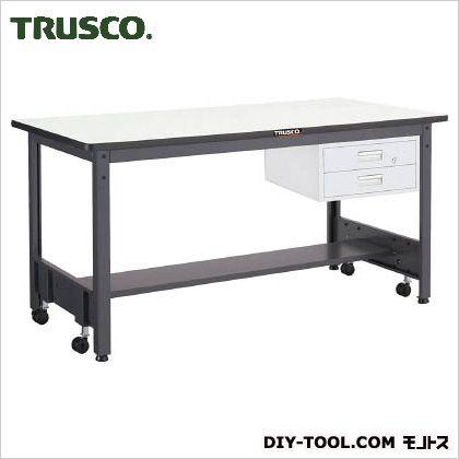 トラスコ(TRUSCO) 移動式作業台中量ダップ天板引出2段 1800×750 CFWP1875F2