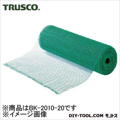 トラスコ ビニール亀甲金網線 径0.9φ×目10×20m巻 BK201020