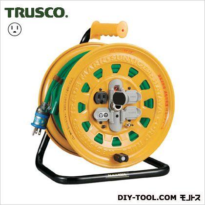 トラスコ プロソフトケーブルコードリール漏電防止付き  BG301KXT