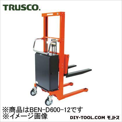 トラスコ コゾウリフター バッテリー式 フォーク高さ80/1200 BEND60012