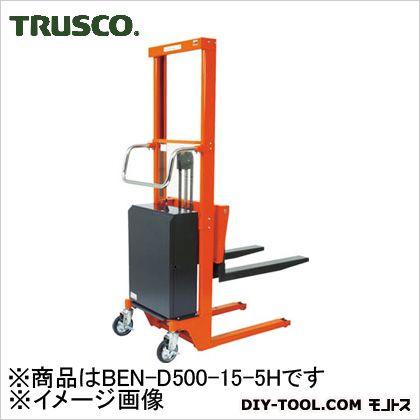 トラスコ コゾウリフター バッテリー式 フォーク高さ50/1470 BEND500155H