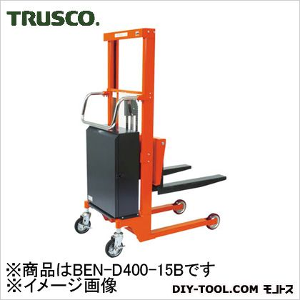 トラスコ コゾウリフター バッテリー式 フォーク高さ110/1535 BEND40015B