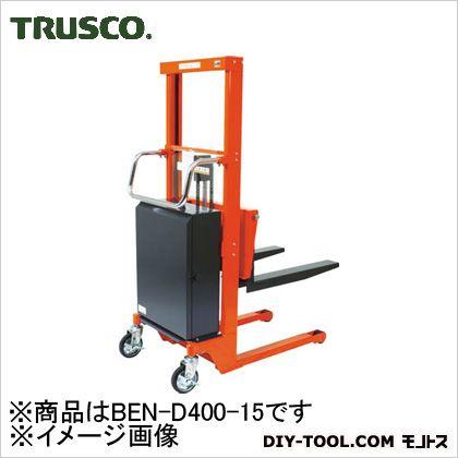 トラスコ コゾウリフター バッテリー式 フォーク高さ75/1500 BEND40015