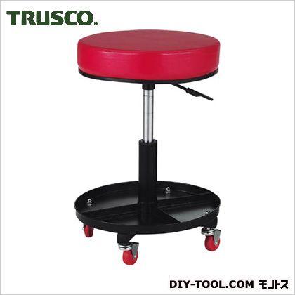 TRUSCO 工具入れ付作業椅子Φ370XH440ー555 TWC-SR