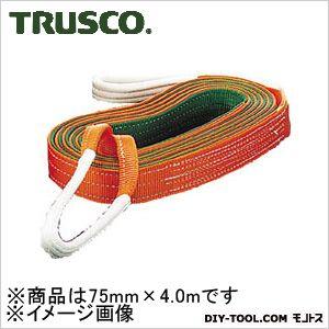 トラスコ(TRUSCO) ベルトスリングJIS3等級両端アイ形75mmX4.0m 442 x 204 x 86 mm G75-40