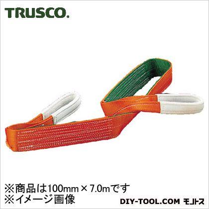 トラスコ ベルトスリングベルト 幅100mm全長7.0m G10070