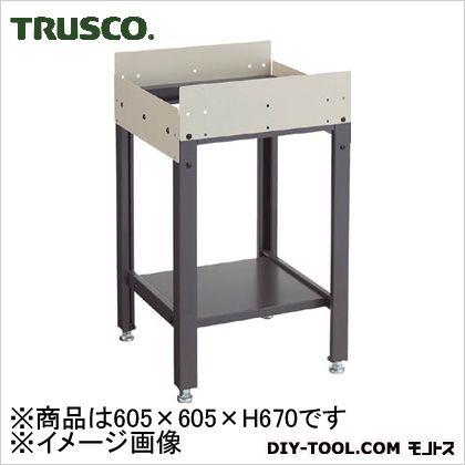 トラスコ ボールコンベヤ用テーブル 605×605×670 (FTU6060) 作業台 ステンレス作業台 作業 万能作業台