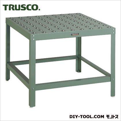 トラスコ フリーテーブル脚付 P100玉数81ヶ 900×900 FT90100AS