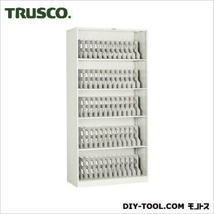 ※法人専用品※トラスコ(TRUSCO) フォルダーラック880X400XH1760棚板4枚付ネオグレ NG 410 x 895 x 1770 mm FR-603