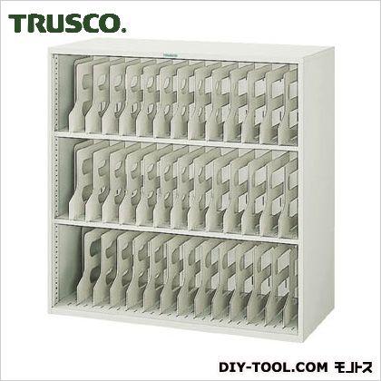 トラスコ フォルダーラック棚板2枚付 880×400×880 FR303
