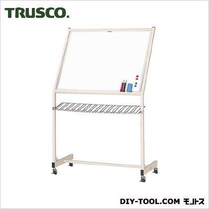 TRUSCO 片面固定移動ボード無地スチール製ホワイトボード650X850 FM-32