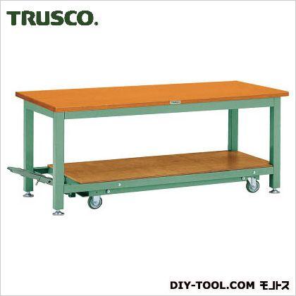 トラスコ 重量TW型3トン作業台合板天板車輪付 1500×750 TWC1500