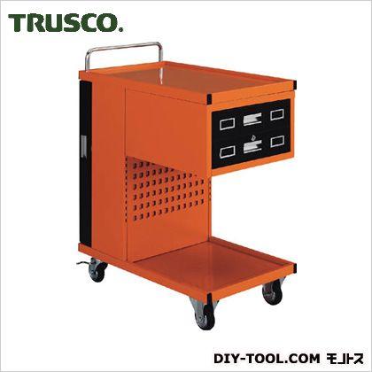 トラスコ ツールワゴンパンチングパネル付  TVD302R