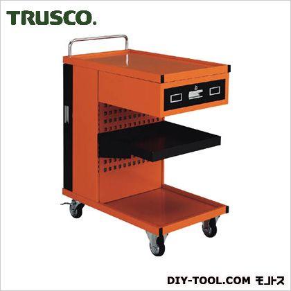 トラスコ 新着 結婚祝い TRUSCO TVD-301R パンチングパネル付ツールワゴン507X830XH1050
