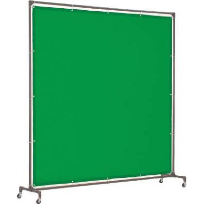 トラスコ 溶接遮光フェンス2020型単体 緑 YFAGN