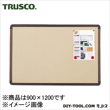 トラスコ(TRUSCO) ブロンズ掲示板900X1200ベージュ 1210 x 910 x 45 mm YBE34SBM
