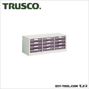 トラスコ 横型バンラックケース 引出12個 792×311×314 WUN12AW