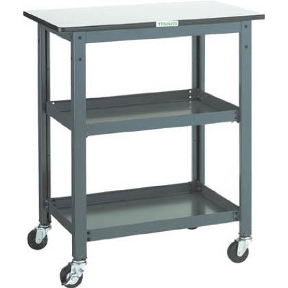 トラスコ 作業台補助テーブルワゴン  WHT-6075H