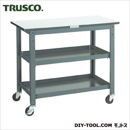 トラスコ(TRUSCO) WHT型作業台補助テーブルワゴン900X450XH740 WHT-4590