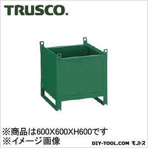 トラスコ ミニカーゴ鉄板張型 600×600×H600 VJ603