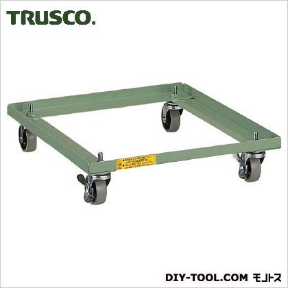 TRUSCO VER型キャビネット用キャスターベースW500用 VER-C