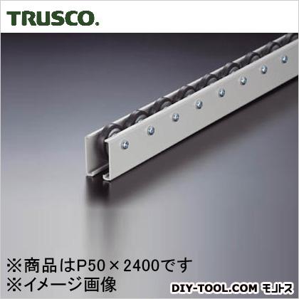 トラスコ(TRUSCO) ホイールコンベヤゴムライニングΦ40X9P50X2400 V-40G-50-2400