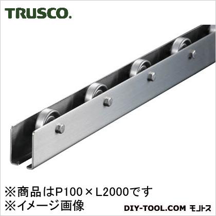 トラスコ ホイルコンベヤ SUS φ38 P100×L2000 V38SUS1002000