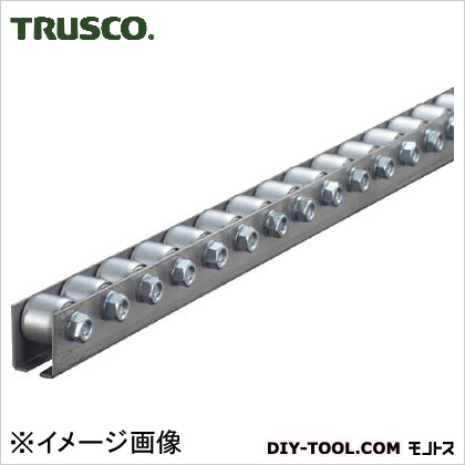トラスコ(TRUSCO) ホイールコンベヤプレス製Φ20X15P25XL1000 V2015P-25-1000