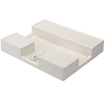 テクノテック かさ上げ防水パン イージーパン アイボリーホワイト W750×D640×H120mm TPD750 1 台