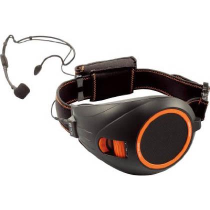 TOA VOICE WALKER ハンズフリー拡声器 ブラック&オレンジ (ER1000BK)