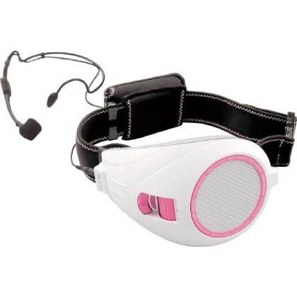 TOA VOICE WALKER ハンズフリー拡声器 ホワイト&ピンク (ER1000PK)