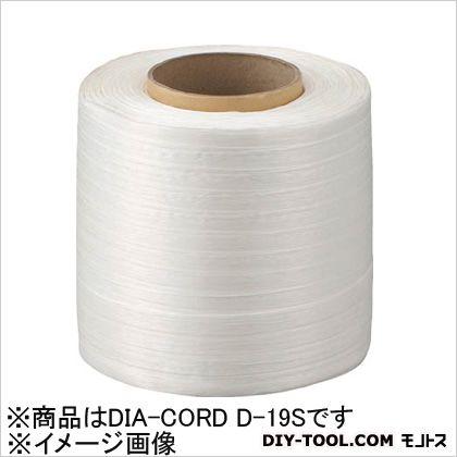 司化成工業 ポリエステル繊維製結束コード ダイヤコード  DIACORDD19S 1 巻