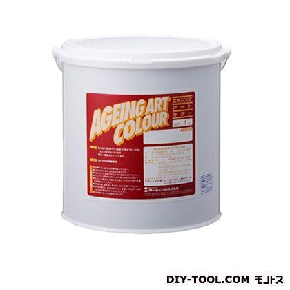 ターナー色彩 エイジングアートカラー 屋内外特殊塗装用水性塗料 低臭フタログリーン 4kg SJB04375