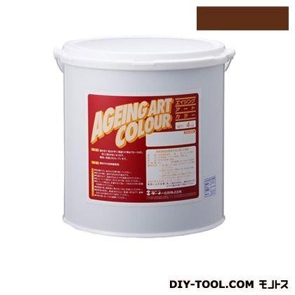 ターナー色彩 エイジングアートカラー 屋内外特殊塗装用水性塗料 低臭ローシェナーダーク 20kg SJB20333