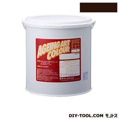 ターナー色彩 エイジングアートカラー 屋内外特殊塗装用水性塗料 低臭バーントアンバー 20kg SJB20371