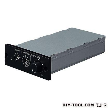 ユニペックス 800MHz帯 ワイヤレスチューナーユニットダイバシティ (CGAシリーズ用) 幅84mm高さ30mm奥行148mm DU-8200 1 台
